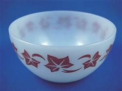 Azur-ite Blue Red Ivy Cereal Bowl