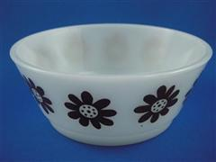 Daisy Head  Bowl Brown