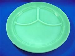 Jadeite 3 compertment Plate