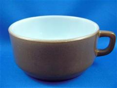 One Handle Bowl (Brown)
