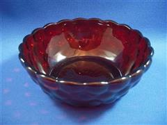 Royal Ruby Bubble Fruit Bowl