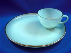 Turquise Blue Snack Set