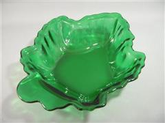 Forest Green Candy Dish