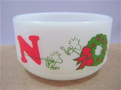 Snoopy NOEL Christmas Bowl