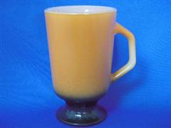 Brown/Black Padestal Mug