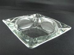 Clear Glass Ashtray Size M