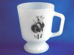 Fox Footed Mug