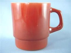 Stacking Color Mug Brown
