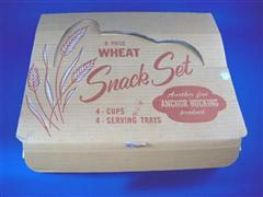 Wheat Snack Set 箱付き 4客セット
